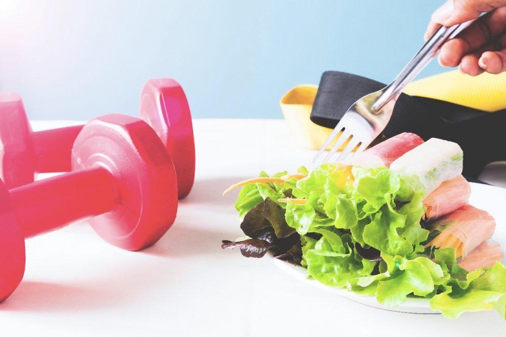 salada exercícios