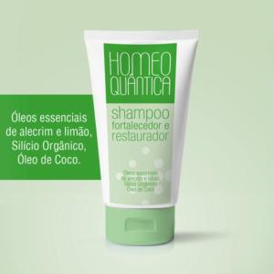 Shampoo Fortalecedor e Restaurador 250ml – Homeoquântica