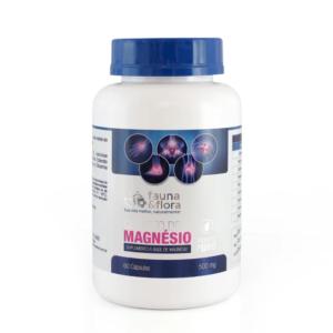Cloreto de Magnésio 500 mg 60 Caps. FAUNA & FLORA