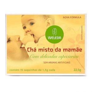 Chá Misto da Mamãe 15 sachês – Weleda