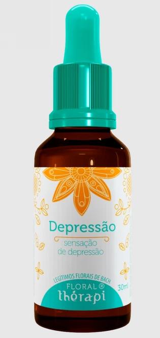 DEPRESSÃO FLORAL THÉRAPI 30 ML GOTAS