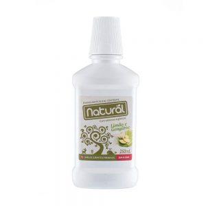 Enxaguante Bucal Limão e Gengibre 250ml – Orgânico Natural