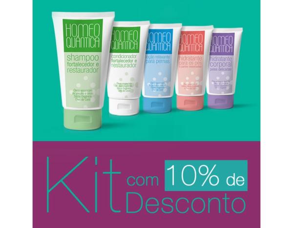 KIT LINHA HOMEOQUÂNTICA COM 10% DE DESCONTO