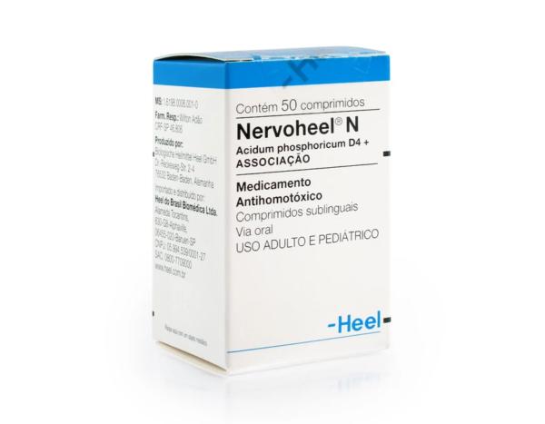 NERVOHEEL N COM 50 COMPRIMIDOS