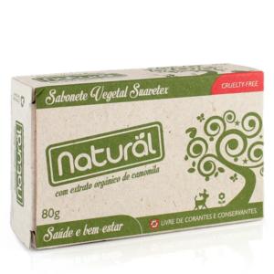 Sabonete Camomila 80g – Orgânico Natural