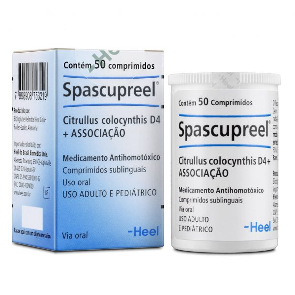 Spascupreel - comprimidos
