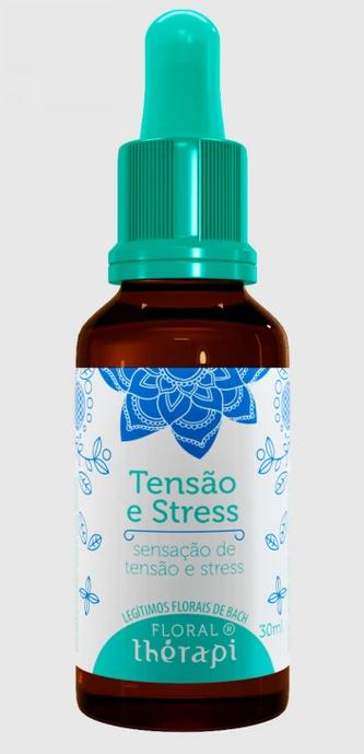 TENSÃO E STRESS FLORAL THÉRAPI 30 ML GOTAS