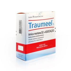 TRAUMEEL COM 10 AMPOLAS DE 2,2ML