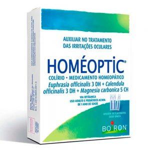 Homéoptic 10 flaconetes 0,4ml cada – Dose única – Boiron