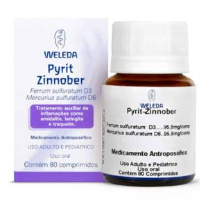Pyrit-Zinnober – 80 comprimidos