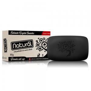 Sabonete Carvão Ativado 80g – Orgânico Natural