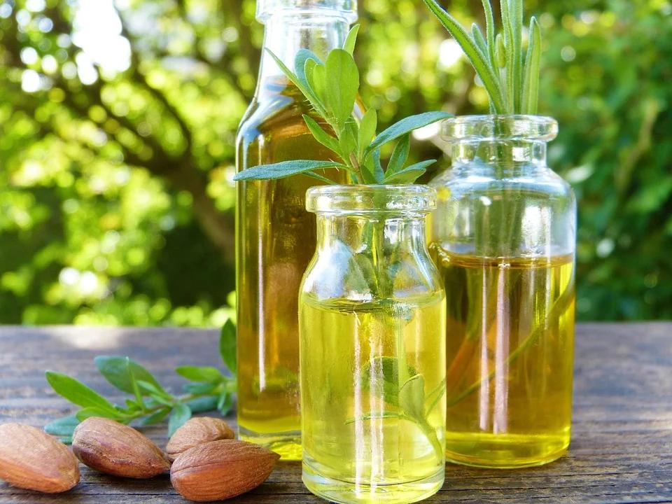 óleos naturais para cabelo