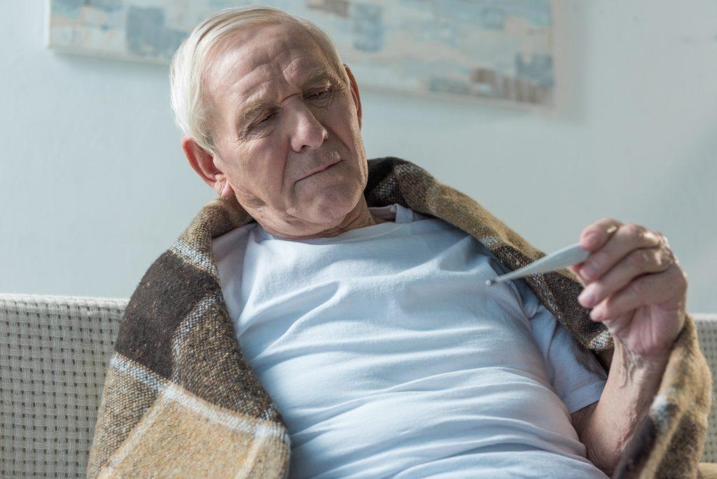 Homeopatia personalidade - Homem doente
