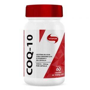 Coq-10 + Vitamina E 500mg 60 cápsulas – Vitafor