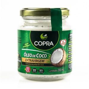Óleo de Coco Extravirgem 200ml – Copra