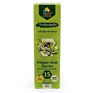 Verdprópolis: Própolis Verde Alcoólico 15% 30ML – Fauna&Flora