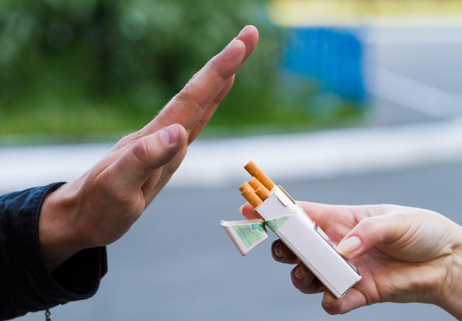 Homeopatia para parar de fumar: Visualize os benefícios