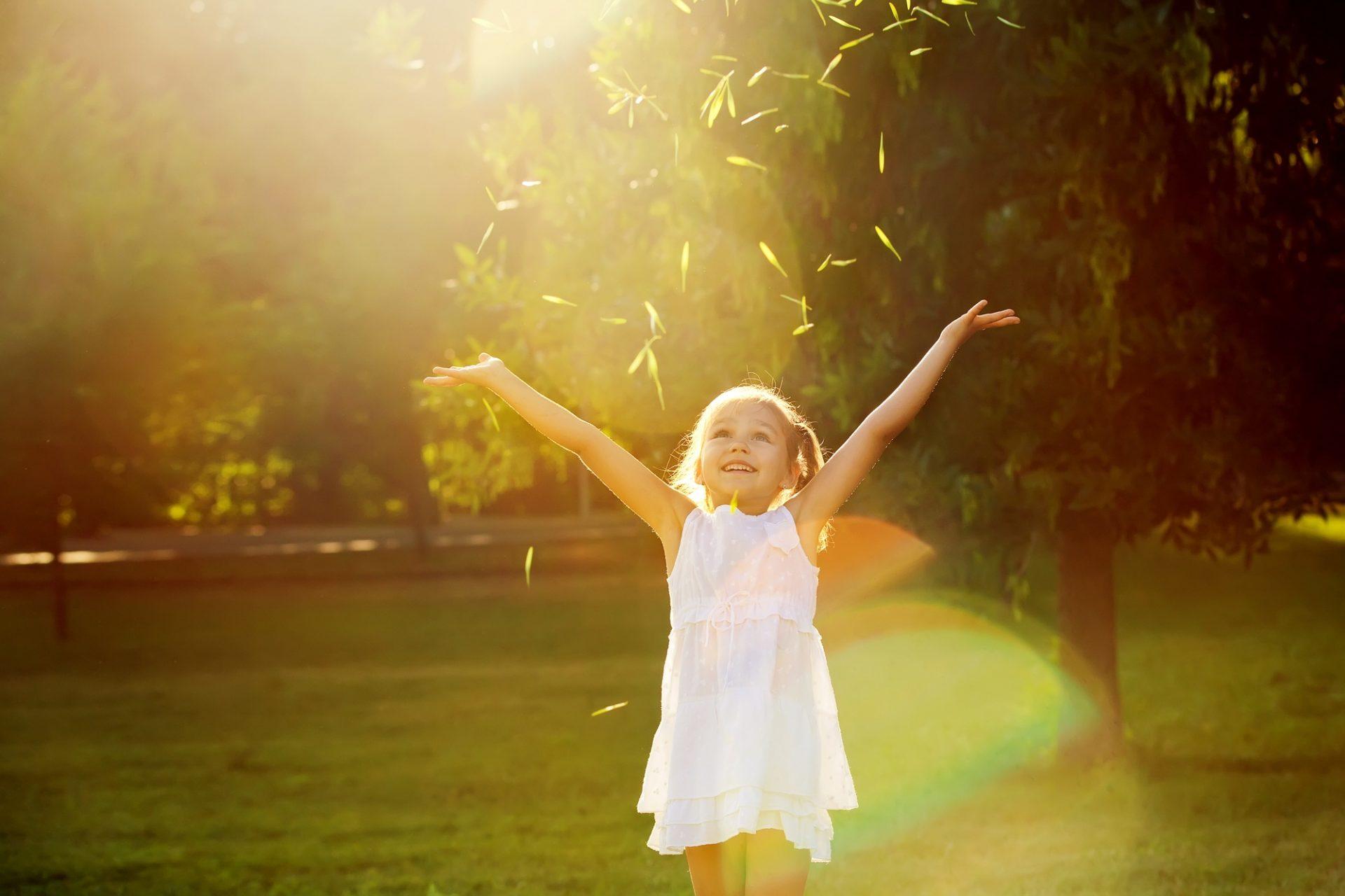 O sol e a vitamina d para criança